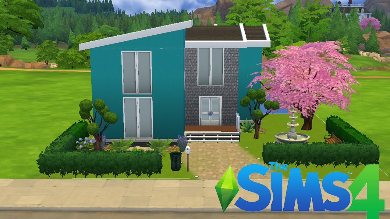 The sims 4 casa astral youtube for Casa moderna los sims 3