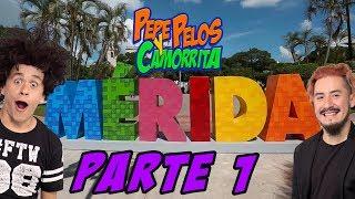 Viaje a Merida Yucatan Pepe Pelos y El Camorrita Parte 1