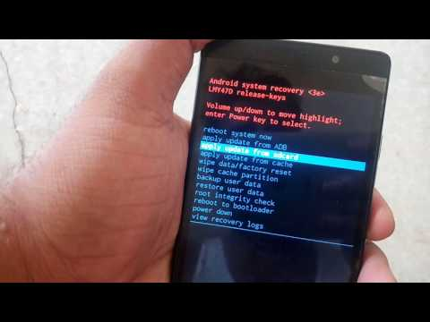 Micromax q412 4g handset hard resat - YouTube