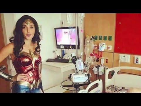 Gal Gadot Visits Children in Hospital as Wonder Woman