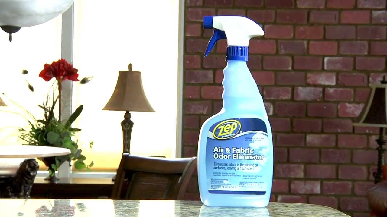 Zep Commercial Air Amp Fabric Odor Eliminator Youtube