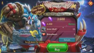 Lords Mobile: Grim Wolf (new hero)