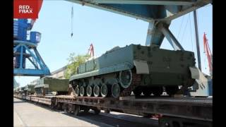 Russia delivers modern military equipment to Azerbaijan