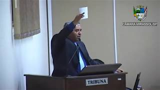 8ª Sessão Ordinária - Vereador presidente Marcão Alves
