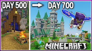 I Played Minecraft for 700 Days.. (1.16 Survival)