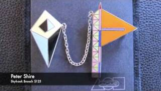 Memphis Design Group Jewelry Peter Shire 1980s The 80s Gallery