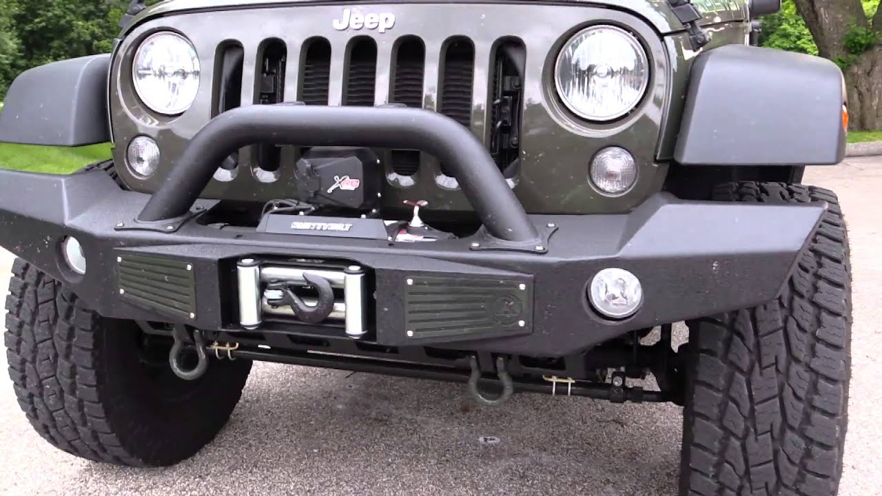 Smittybilt xrc atlas src2 and side armor bars on jeep youtube aloadofball Image collections