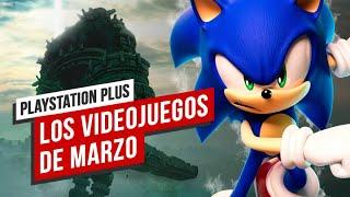 Los juegos de PS Plus de marzo, en tres minutos