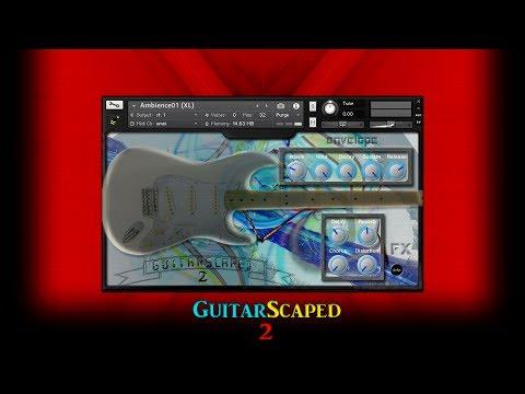 GuitarScaped 2 Demo (Kontakt, SFZ, WAV)