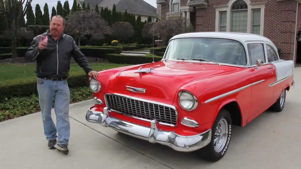 1955 chevy 210 post car classic muscle car for sale in mi for Vanguard motors for sale
