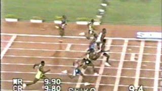 1991年 カール・ルイス世界新記録