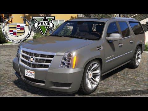 GTA V Mods -   Cadillac Escalade ESV