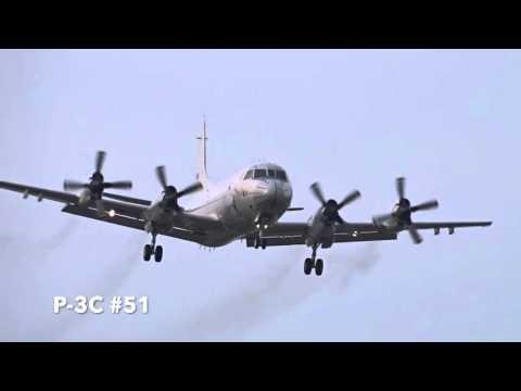 厚木基地の空-244 '16/3/23 (P-3C 早朝から投下訓練)