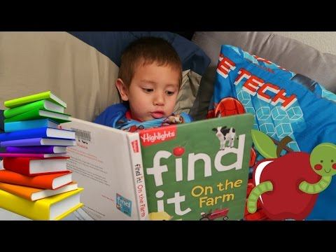 Trip to the Library | Windmil Library Las Vegas | Toddler Learning