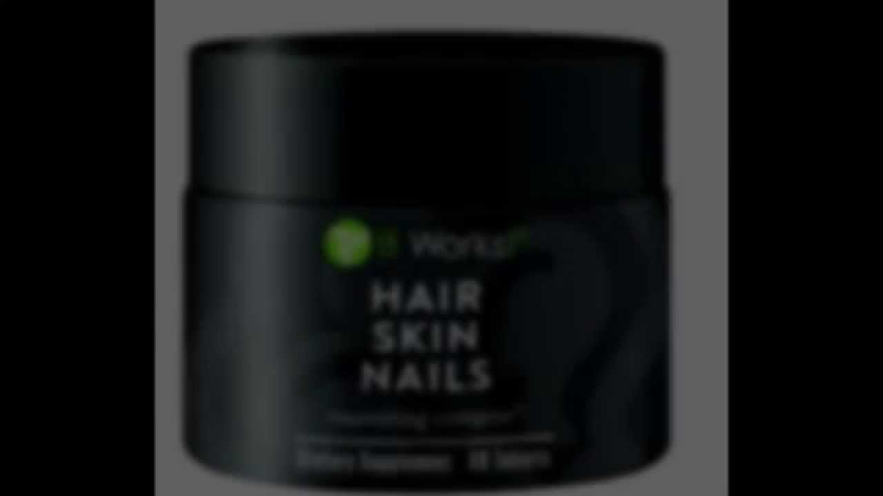 Healthy Hair Skin and Nails Supplement (It Works! Global) Health Infinity For Life! - YouTube