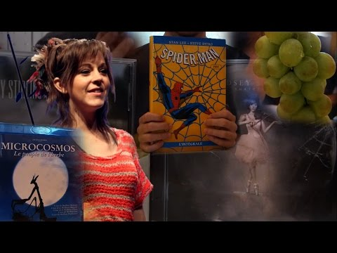 ASMR Eat&Talk #1 Grapes, Movies, Lindsey Stirling, Comic Books