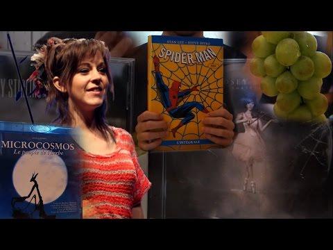 ASMR Eat&Talk #1 Grapes, Movies, Lindsey Stirling, Comic Books