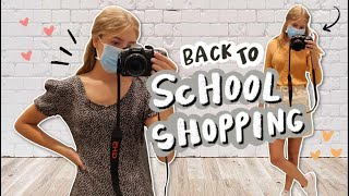 shopping for school clothes!!