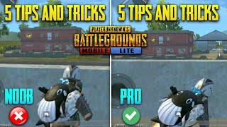 🔥 Noob To Pro Guide #2 | This Will Make You Pro - 5 Best Secret Tips & Tricks ( Pubg Mobile Lite )