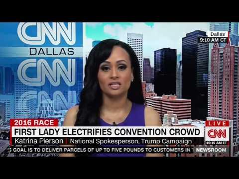 Katrina Pierson on Michelle Obama's Convention speech