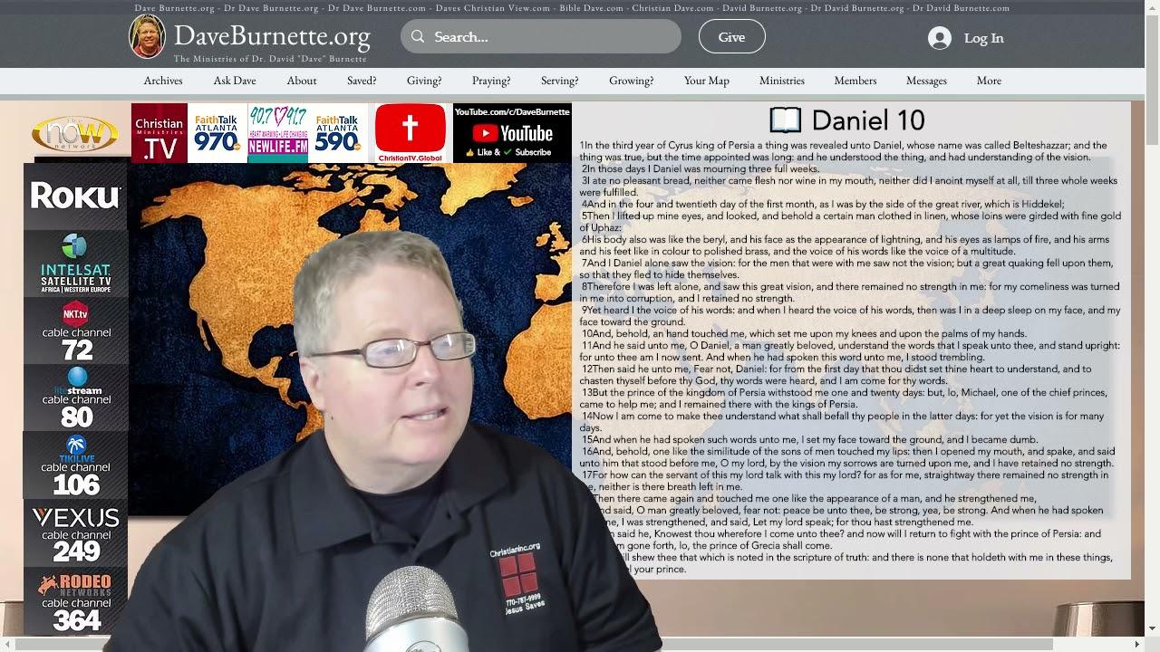 Daniel 10 ✒️ Spiritual Warfare