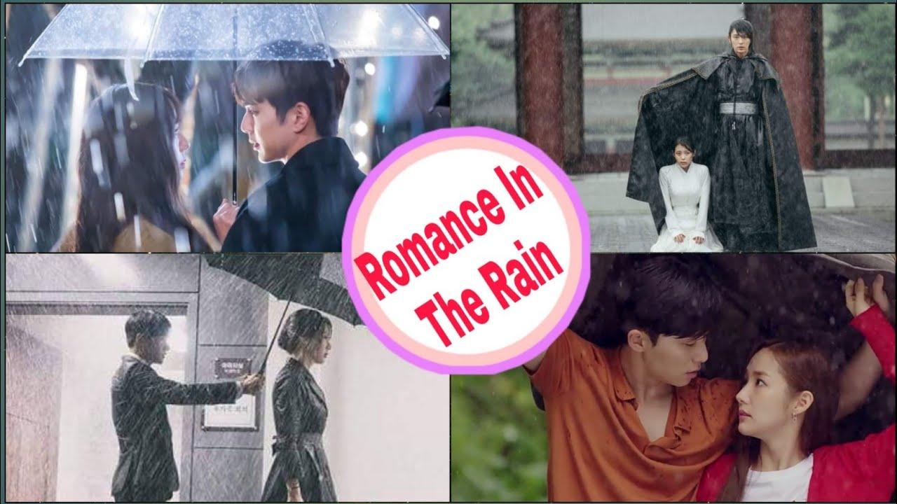 Romance in the Rain💞 Umbrella Kdrama Multifandom 💞Kdrama Romantic Scenes 💞Kdrama Romantic Couples