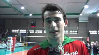 24-05-2015: Gianluca Galassi dopo la vittoria in Del Monte Junior League vinta da Trento