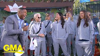 Women's national soccer team on the road to the World Cup on 'GMA' l GMA