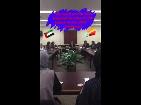 Snapchat Story: U.A.E Global Young Leaders Visit the State Department