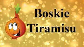 Boskie Tiramisu. *Cebula.tv - pyszne gotowanie.*