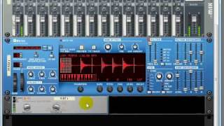 Propellerhead Reason 4 Tutorial D-11 foldback distortion effects