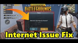 PUBG Internet Issue FIX || Solved 100 % Working
