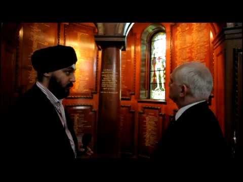 Inside The Royal Memorial Chapel At Sandhurst {{www.SikhsAtWar.info}}