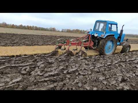 Autumn Plowing.Rudeninis Arimas.Oсенняя вспашка. MTZ 82 Kverneland.