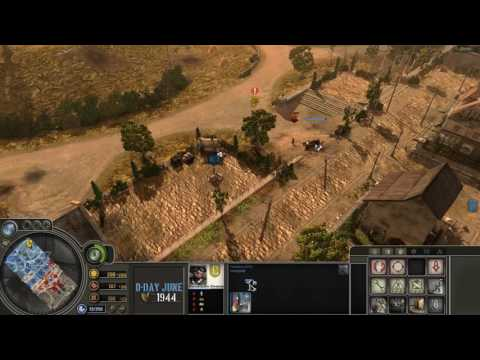 Company of Heroes Blitzkrieg Mod Comp Stomp with Tigers