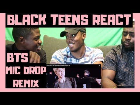 BLACK GUYS REACT TO: BTS (방탄소년단) 'MIC Drop (Steve Aoki Remix)' Official MV