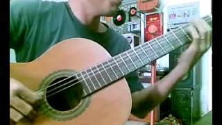 Rao + Vọng cổ câu 1 bằng guitar classic (không chỉnh dây)