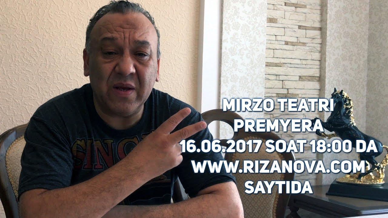 PREMYERA MIRZO TEATRI - KO'RISHAMIZ-KULISHAMIZ (16.06.2017 SOAT: 18:00 DA)