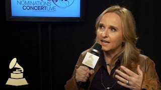 Melissa Etheridge Backstage at the 56th GRAMMY Award Nominations Concert