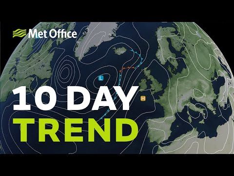 10 Day trend - Will the warmth last? 02/06/21