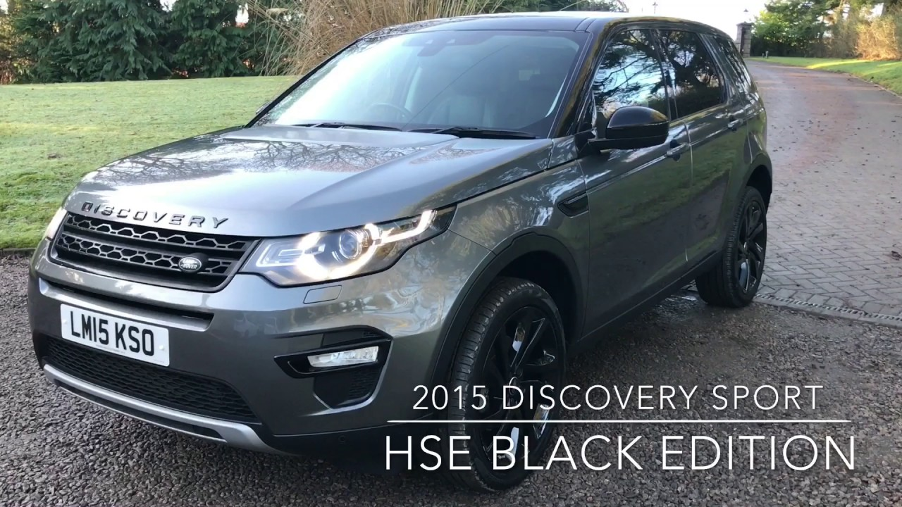 land rover discovery 2015 black. 2015 discovery sport hse black edition land rover
