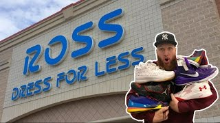 SEARCHING for LIMITED SNEAKERS at ROSS!!! PART 2!!!