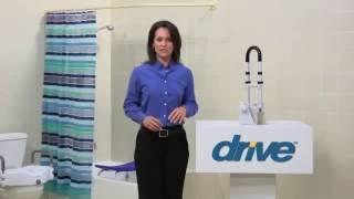 Drive Medical Clamp on Tub Rail Profile