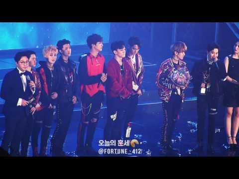 170119 EXO FOURTH GRAND PRIZE @ Seoul Music Awards, 최초이자 최고인 엑소의 4년 연속 대상♡ 과 수상소감! (엑소와 엑소엘의 절대 기록)