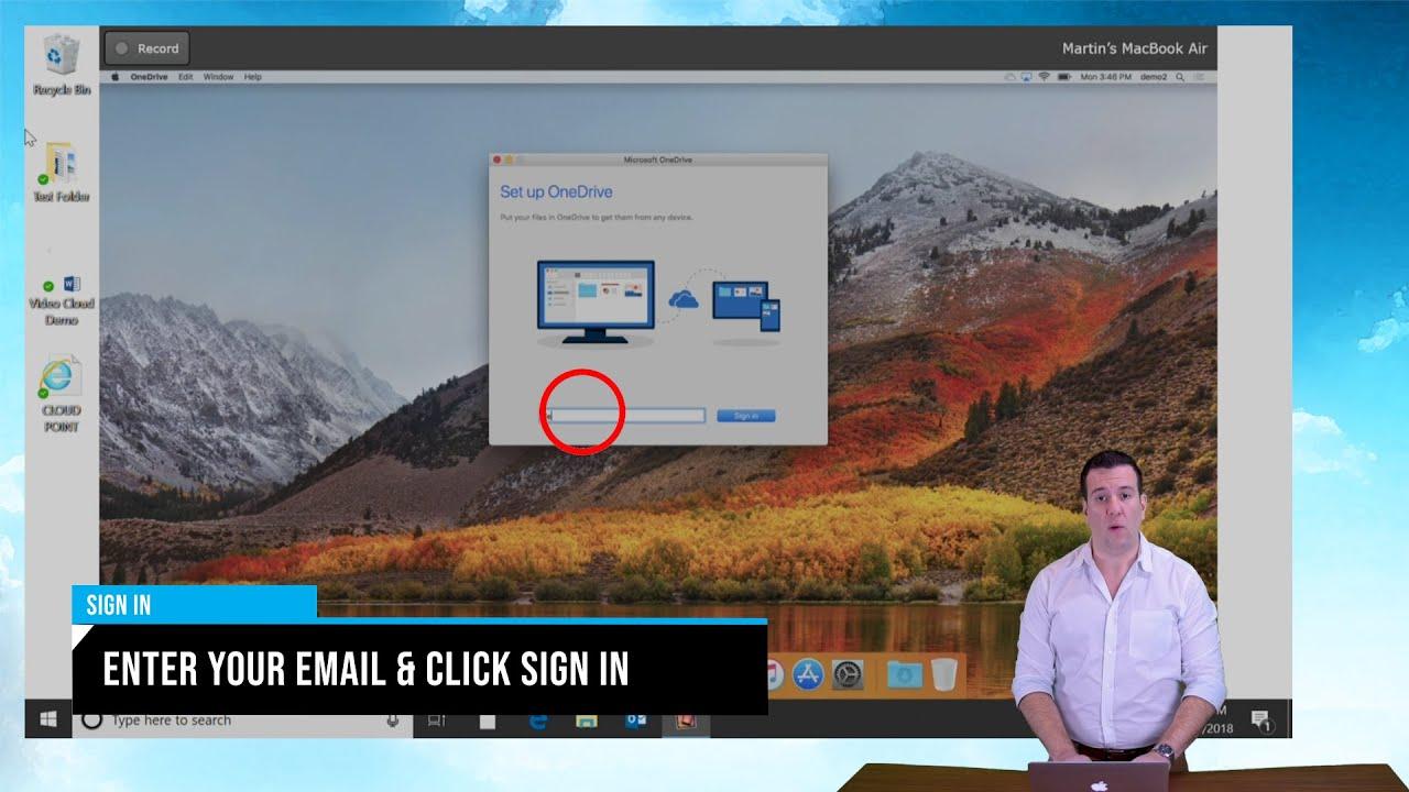 OneDrive MAC Setup