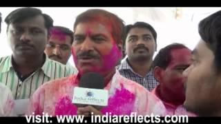 Belgaum BJP MP Suresh Agadi is Celebrates his Hattrick
