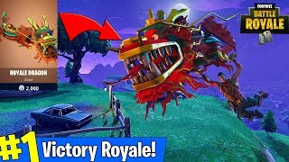 Fortnite New Dragon Glider + New Update! (Fortnite Battle Royale Gameplay) thumbnail