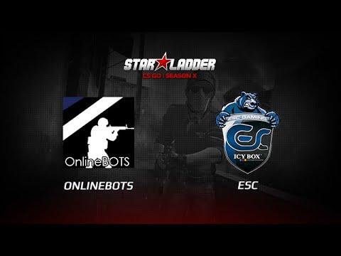 OnBots vs ESC Gaming, StarSeries X, mirage