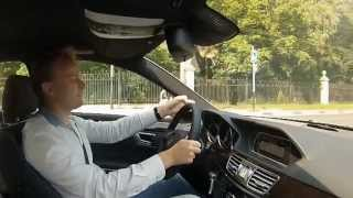 Тест драйв 2013 Mercedes Benz E 200