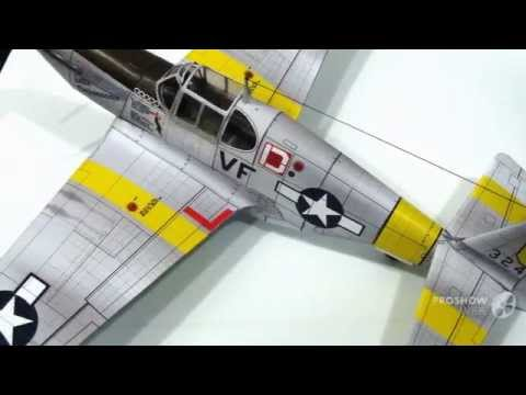 Papercraft P-51 Little Ambassador - Paper Scale Model